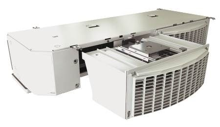 Slim Contour Unit Cooler With Modular Deck