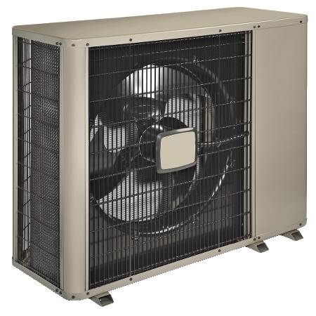 Horizontal Discharge Air Conditioning Condenisng Unit 13 SEER, Three-Phase, 5 Ton, R410A, 208/230V