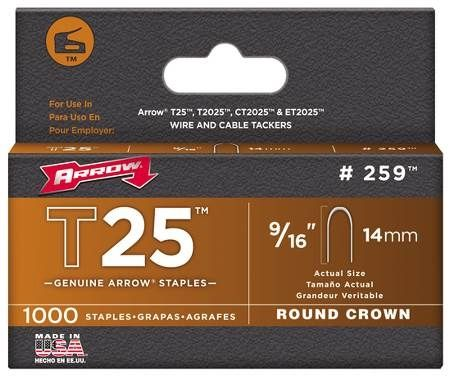 Round Crown Staples