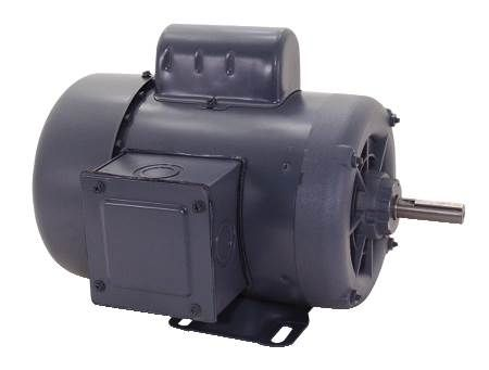 Capacitor Start Enclosed Rigid Base Motor Industrial and Farm Duty Applications