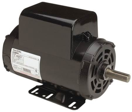 Air Compressor Motor Dripproof, Rigid base, Single phase, Capacitor start/cap run