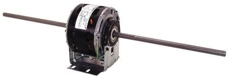 4-Speed Fan Coil Dual Blower Wheel Motors with Resilient Base