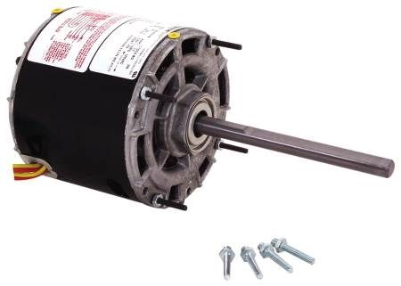 Single Shaft Open Fan/Blower Motor For Furnaces, Air Handlers, Fan Coils and Air Conditioning