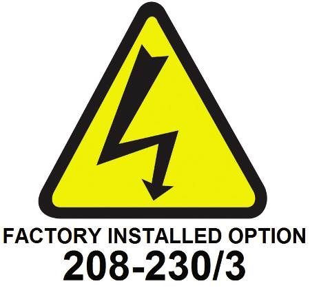 Factory Installed Option