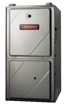 95% AFUE Upflow/Horizontal Gas Furnace AMVC95 Series, Two-Stage Variable Speed