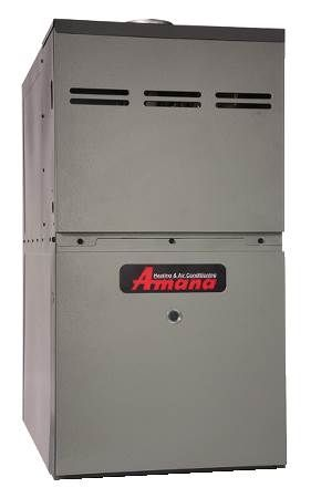 80% AFUE Upflow/Horizontal Gas Furnace AMH8 Series, Two-Stage, Multi-Speed, Standard