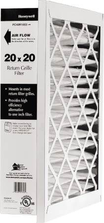 Return Grille Media Air Filter