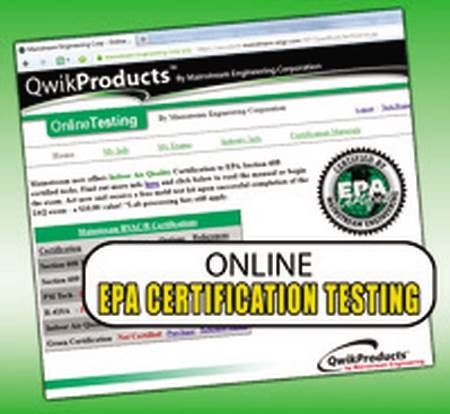 EPA Section 608 Test Qwik608™