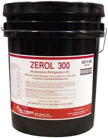 Refrigeration Oil, Zerol 300