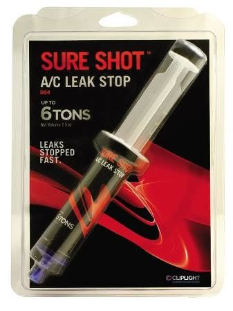 Super Seal Sure Shot™+Eco Boost™ A/C Leak Stop Refill Cartridge