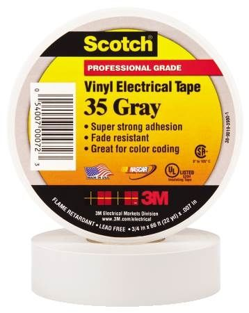 35 Gray Electrical Tape