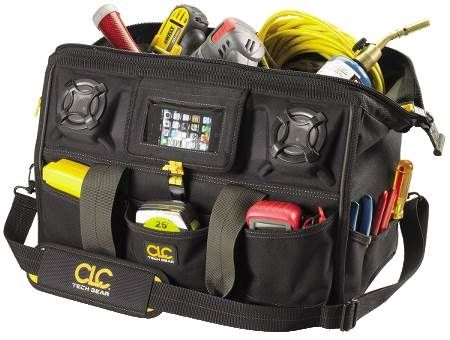 39-Pocket Tech Gear™ Stereo Speaker Tool Bag