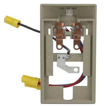 Subbase For 1A10-651 Line Voltage Thermostat