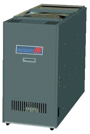 Direct Drive Oil Furnace Downflow Rear Flue Model
