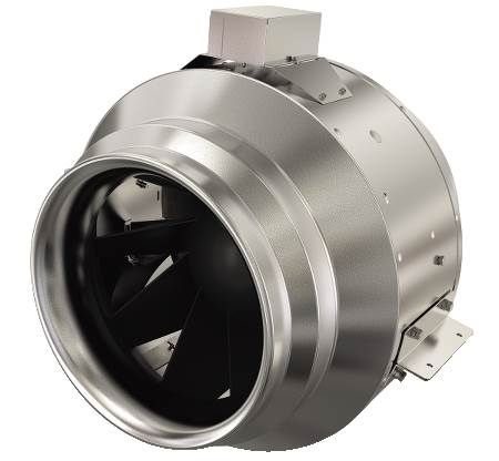 "10"" Inline Mixed Flow Fan - 1187 CFM @ .25"" SP"