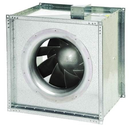 Inline Mixed Flow Square Fan