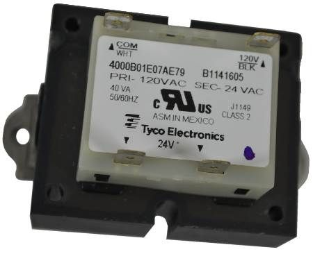 Transformer - 120V to 24V 40VA (Tyco #4000B01E07AE79)