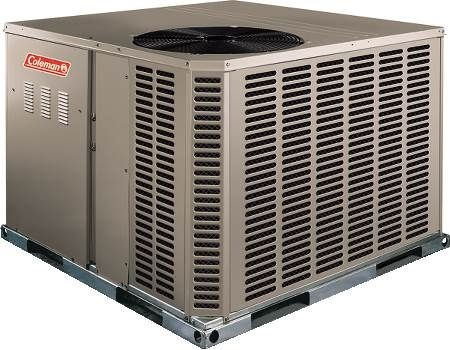 Single Packaged Air Conditioner 15 SEER, Three-Phase, 3 Ton, R410A