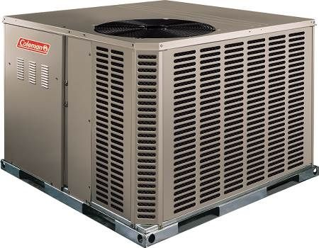 Dual Fuel Packaged Heat Pump 14 SEER, Single-Phase, Two-Stage, 4 Ton, R410A