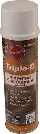 "Triple ""D"" Universal Coil Cleaner"
