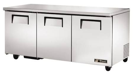 Undercounter Three Door Refrigerator