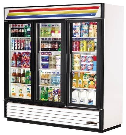 Three Door Refrigerator