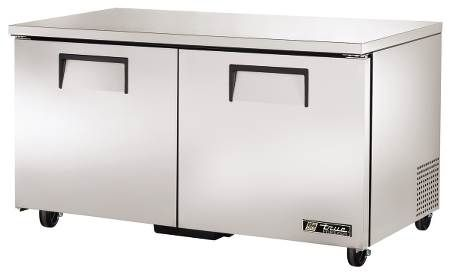 Undercounter Two Door Freezer