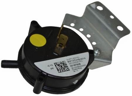Air Pressure Switch -0.10 I.W.C. (Yellow Dot)