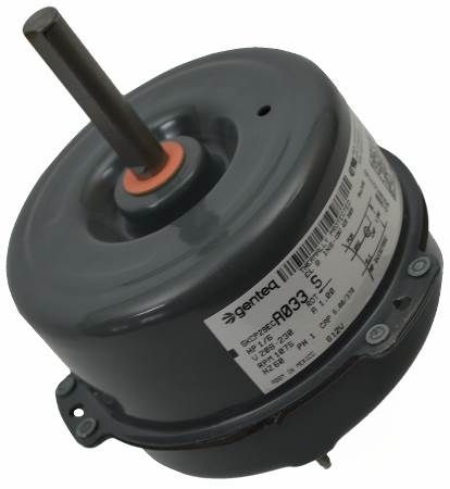 Condenser Fan Motor - 1/6HP 1SP 8PL