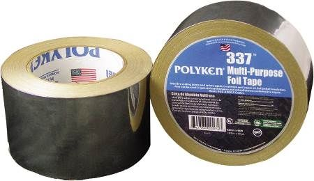 "3"" Aluminum Multi-Purpose Plain Foil Tape"