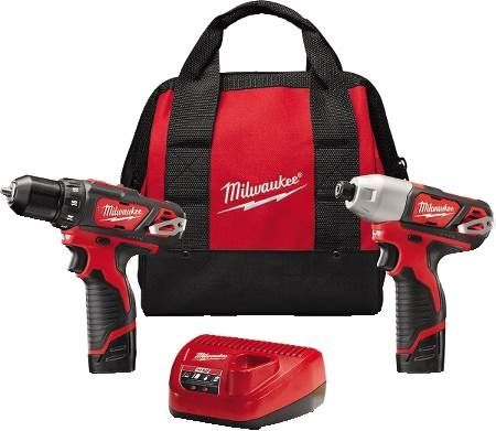 M12™ Lithium-Ion Cordless Drill/Driver and Hex Impact Driver Combo Kit
