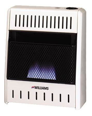 Vent-Free Room Heater Blue Flame
