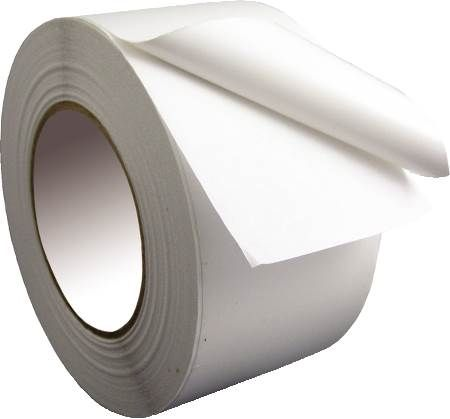 "3"" White Vinyl Jacketing Tape"
