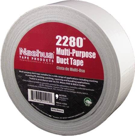 "2"" White Multi-Purpose Duct Tape"