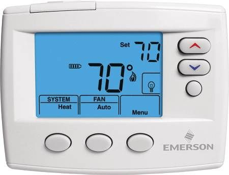"Blue™ 4"" Non-Programmable Thermostat"