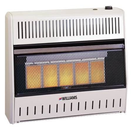 Vent-Free Room Heater Infrared (Ceramic Tiles)