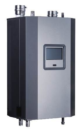 Gas Fired Hot Water Boiler Trinity TFT Series, Condensing, Ultra High Efficiency