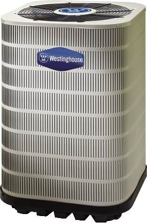 Heat Pump Westinghouse, 13 SEER, Single-Phase, 1-1/2 Ton, R410A