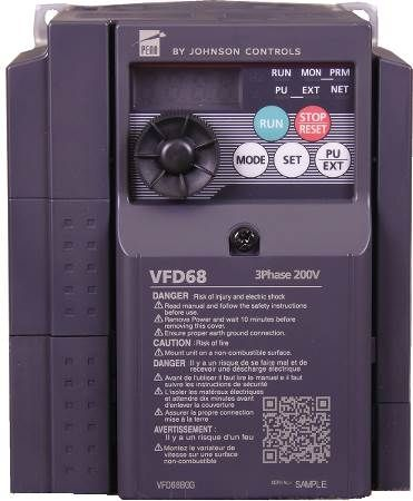VFD68 Variable Frequency Drive Fan Speed Control