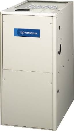 80% AFUE Upflow/Horizontal Single-Stage Gas Furnace Westinghouse KG7SA Series Gas Furnace