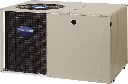 Single Package HP Westinghouse 13 SEER, 11 EER, Single-Phase, 4 Ton, R410A