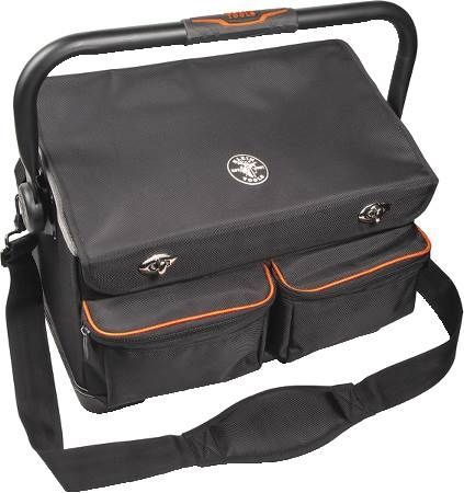 17-Pocket Tradesman Pro Tool Tote with Cover