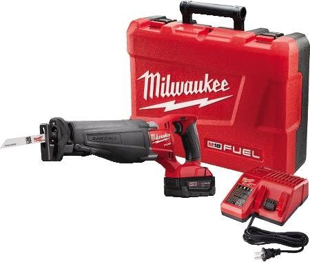 Sawzall® M18 FUEL™ Lithium-Ion Cordless Recip Saw Kit