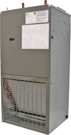 Air Handler ABW Series, Wall Mount Hydronic Heat DX Cool