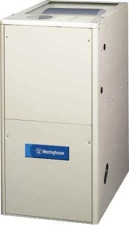 80% AFUE Downflow Two-Stage Gas Furnace Westinghouse KG7TK Series Gas Furnace