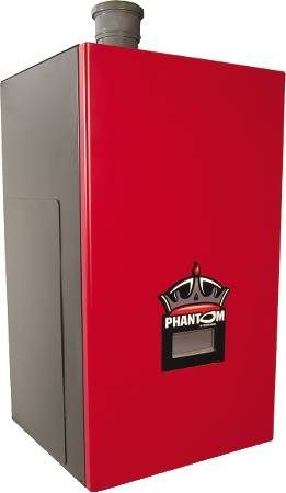 Phantom Gas Fired Hot Water Boiler Stainless Steel, NG