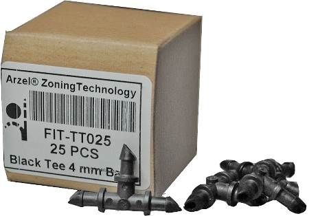 Box of Tee Fittings