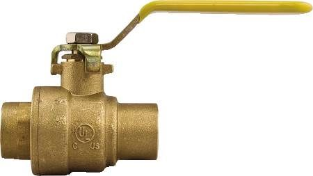 1 1/4 IN Brass Ball Valve