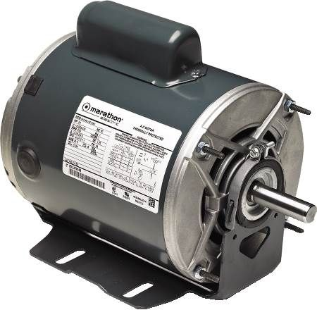 Single Phase Fan and Blower Motor Capacitor Start, Dripproof