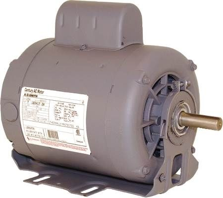 Resilient Base Capacitor Start General Purpose Fan and Blower Motor Single-Phase, Dripproof